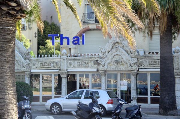 Un restaurant THAI a remplacé la célèbre Voile d Or et sa bourride raphaëloise - A THAI restaurant has taken the place of the famous Voile d Or and its specific fish soup