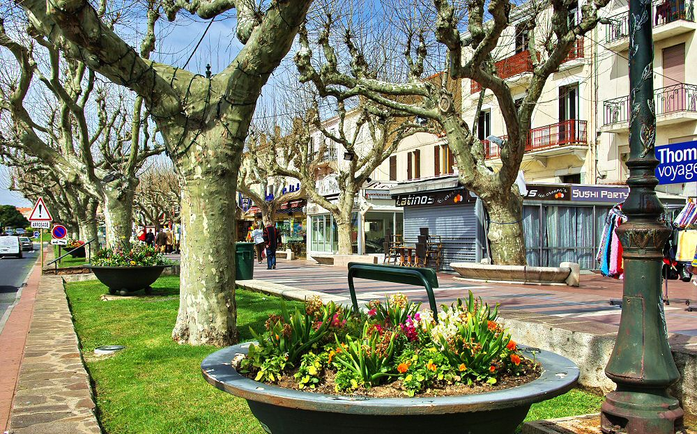 Restaurants et boutiques - Restaurants and shops