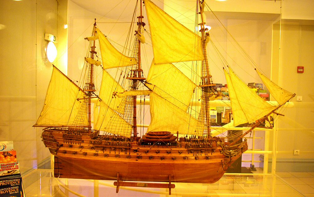 La splendide maquette - The nice sail boat model